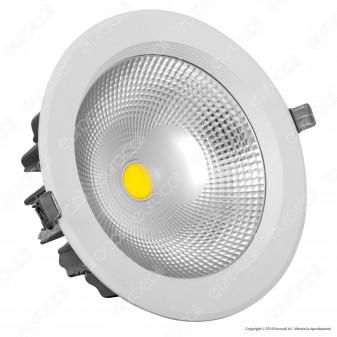 V-Tac VT-26451 RD Faretto LED da Incasso Rotondo 40W COB - SKU 1279