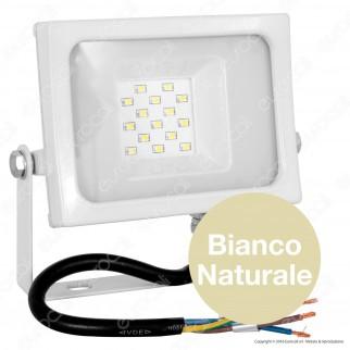 V-Tac VT-4810 Faretto LED SMD 10W Ultra Sottile da Esterno Colore Bianco - SKU 5770