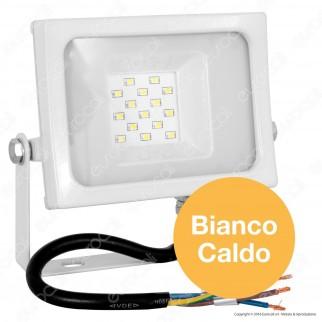 V-Tac VT-4810 Faretto LED SMD 10W Ultra Sottile da Esterno Colore Bianco - SKU 5769 / 5770