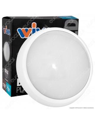 Wiva Plafoniera LED 32W mod. PLAFÒ Bianca Forma Circolare