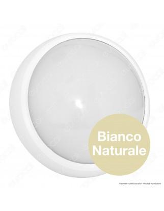 Wiva Plafoniera LED 7W mod. BULK Bianca Forma Circolare IP65