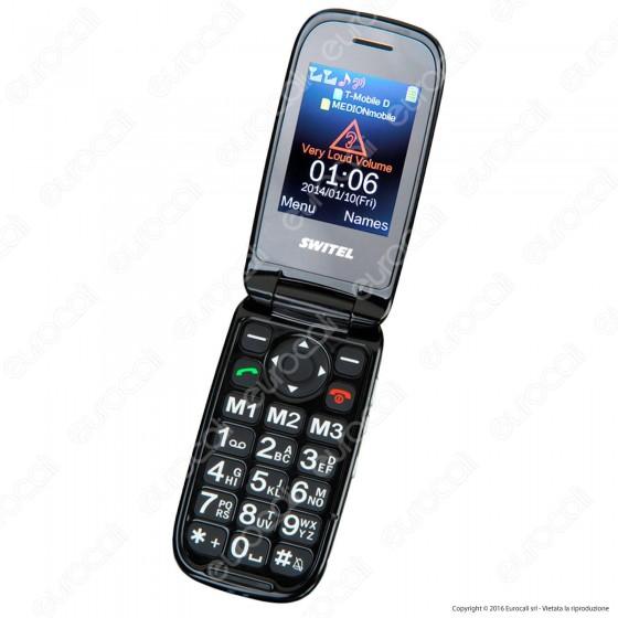 Switel M190 Mobile Telefono Cellulare per Portatori di Apparecchi Acustici