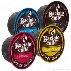 Kit Assaggio 8 Capsule Baciato Caffè Cialde Compatibili Nescafè Dolce Gusto