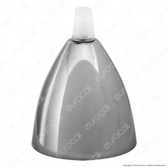 V-TAC Paralume in Metallo Cromato a Specchio - SKU 3781