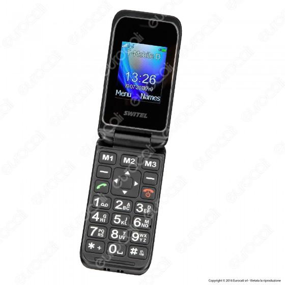 Switel M210 Mobile Telefono Cellulare per Portatori di Apparecchi Acustici