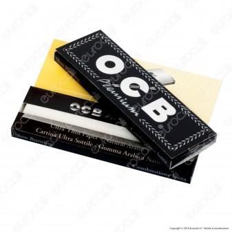 Cartine Ocb Nere Premium Corte - Libretto