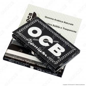 Cartine Ocb Nere Premium Corte Doppie - Libretto