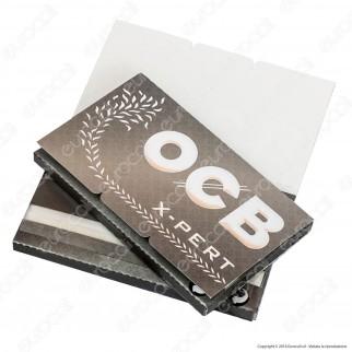 Cartine Ocb X-Pert Argento Corte Doppie - Libretto