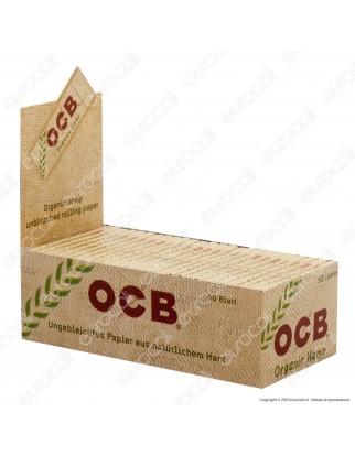 Cartine Ocb Organic Hemp Corte Canapa Biologica - Scatola da 50 Libretti