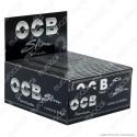 Cartine Ocb Nere Premium King Size Lunghe Slim - Scatola da 50 Libretti