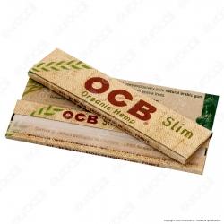 Cartine Ocb Organic Hemp King Size Slim Canapa Biologica Lunghe - Libretto