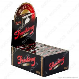 Cartine Smoking Rolls De Luxe King Size Lunghe - Scatola da 24 Pacchetti