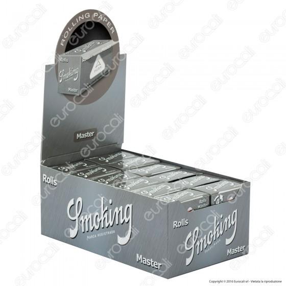 Cartine Smoking Rolls Master King Size Lunghe - Scatola da 24 Pacchetti