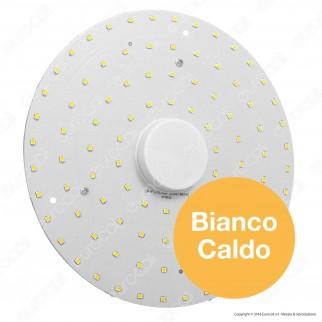 Life Modulo LED Circolina con Magnete Ø200mm 18W per Plafoniere
