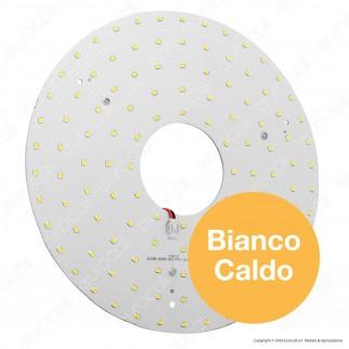 Life Modulo LED Circolina con Magnete Ø235mm 24W per Plafoniere