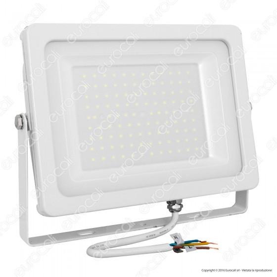 V-Tac VT-49100 Faretto LED SMD 100W da Esterno Colore Bianco - SKU 5844 / 5845