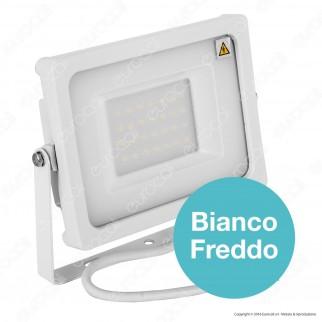 V-Tac VT-4933 Faretto LED SMD 30W Ultra Sottile da Esterno Colore Bianco - SKU 5808 / 5809