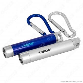 Velamp IN229 Red Dot Puntatore Laser con Luce LED e UV