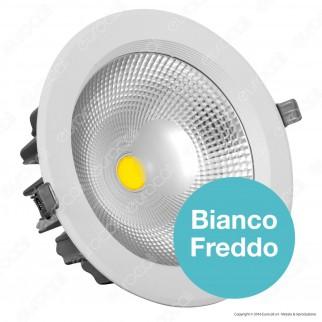 V-Tac VT-26451 Faretto LED da Incasso Rotondo 40W COB - SKU 1279