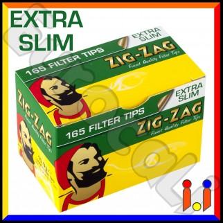 Zig Zag Extra Slim 5,5mm - Scatolina da 165 Filtri