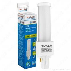 V-Tac VT-2046 Lampadina LED G24 6W Tower Horizontal Light - SKU 7210 / 7209 / 7208