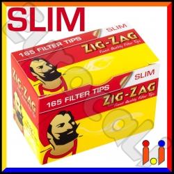 Zig Zag Slim 6mm - Scatolina da 165 Filtri
