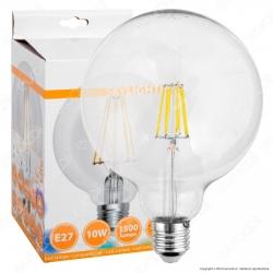 SkyLighting Lampadina LED E27 10W Globo G125 Filamento - mod. GNFL-12510C / GNFL-12510D / GNFL-12510F