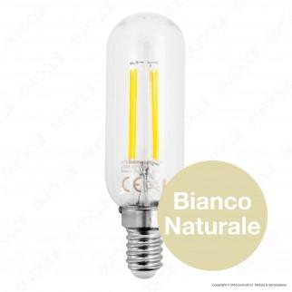 SkyLighting Lampadina LED E14 2W Tubolare a Filamento
