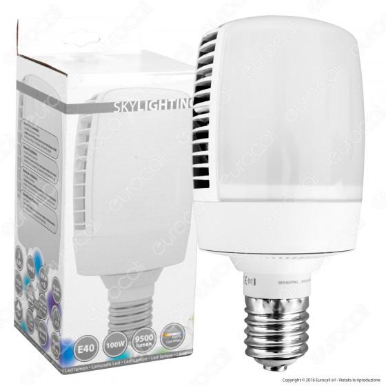 SkyLighting Lampadina LED E40 100W High-Power Bulb per Campane Industriali
