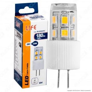 Life Lampadina LED G4 2W Bulb - mod. 39.930420C / 39.930420F