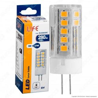 Life Lampadina LED G4 3W Bulb - mod. 39.930430C / 39.930430F