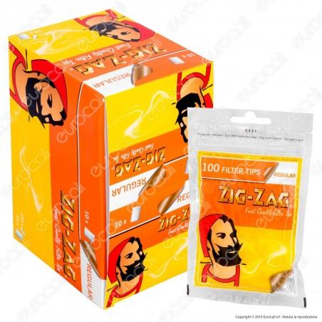 Zig Zag Regular 8mm - Box 10 Bustine da 100 Filtri