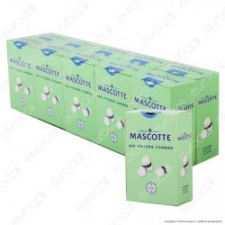 Mascotte Regular 8mm Carboni Attivi - Box 10 Scatoline da 100 Filtri
