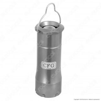 CFG E382 Torcia LED 3W da Campeggio in Alluminio