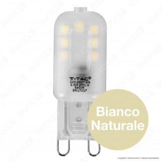 V-Tac VT-1946 Lampadina LED G9 2,5W Bulb - SKU 7206 / 7207