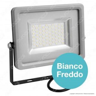 V-Tac VT-4830 Faretto LED SMD 30W Ultra Sottile da Esterno Colore Grigio e Nero - SKU 5761 / 5870 / 5871