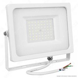V-Tac VT-4955 Faretto LED SMD 50W Ultra Sottile da Esterno Colore Bianco - SKU 5825 / 5826 / 5827