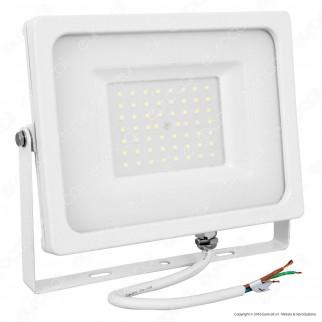 V-Tac VT-4955 Faretto LED SMD 50W Ultra Sottile da Esterno Colore Bianco - SKU 5825 / 5827