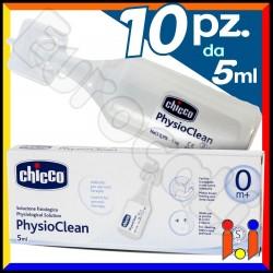 Chicco Soluzione Fisiologica PhysioClean - 10 Fialette da 5ml