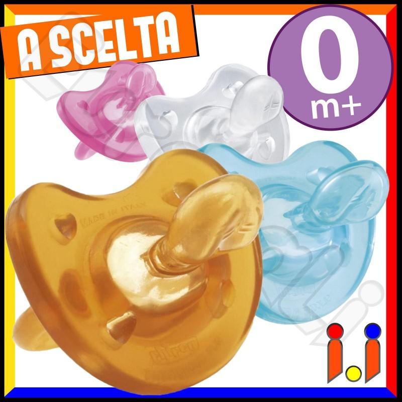 Chicco Gommotto Physio Soft 0 m+ a Scelta - 1 Ciuccio