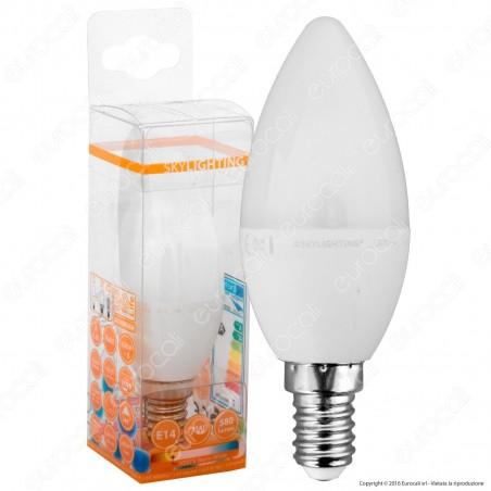SkyLighting Lampadina LED E14 7W Candela - mod. C37CPA-1407C / C37CPA-1407D / C37CPA-1407F