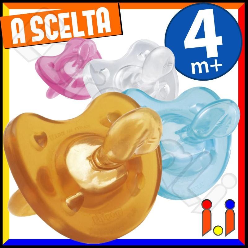 Chicco Gommotto Physio Soft 4 m+ a Scelta - 1 Ciuccio