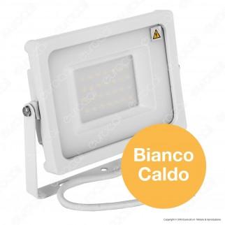V-Tac VT-4933 Faretto LED SMD 30W Ultra Sottile da Esterno Colore Bianco - SKU 5807 / 5808 / 5809
