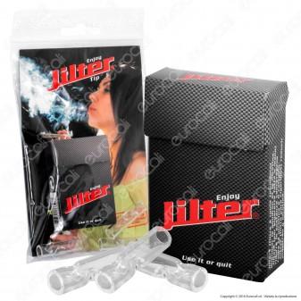 Jilter Filtri Slim 6mm con 3 Microbocchini in Vetro - Pacchetto da 42 Filtri