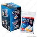 PROV-C00173008 - Ocb Slim 6mm con Striscia Gommata - Box 10 Bustine da 150 Filtri