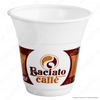 50 Bicchierini da Caffè 80cc Baciato Caffè