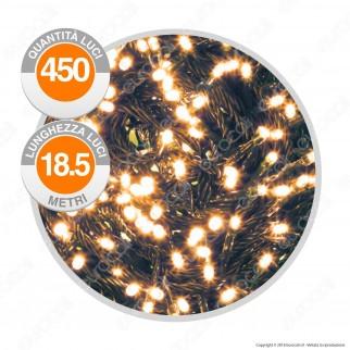 Catena 450 Luci LED Reflex Bianco Caldo con Controller Memory - per Interno e Esterno