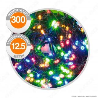 Catena 300 Luci LED Reflex Multicolore con Controller - per Interno e Esterno