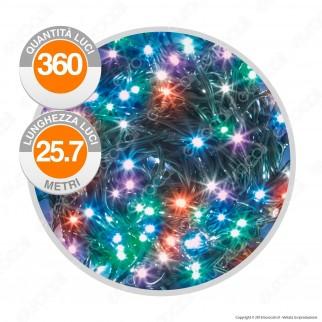 Catena 360 Luci LED Reflex Multicolore con Controller Memory - per Interno e Esterno