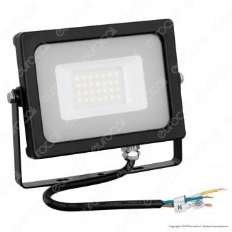 V-Tac VT-4922 Faretto LED SMD Ultrasottile 20W da Esterno Colore Nero - SKU 5795 / 5796 / 5797